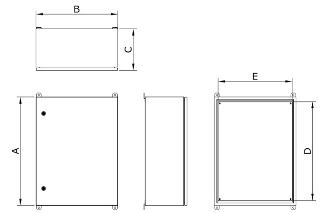 Outdoor Control Cabinet Dimensions